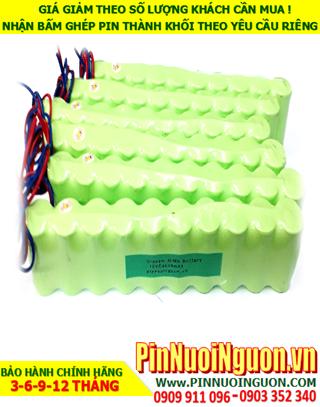 Pin nuôi nguồn 12v C4500mAh NiMh; Pin sạc 12v C4500mAh NiMh nuôi nguồn PLC| ĐANG CÒN HÀNG