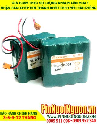 Pin nuôi nguồn 9.6v AA1800mAh NiMh; Pin sạc 9.6v AA1800mAh NiMh nuôi nguồn PLC| ĐANG CÒN HÀNG