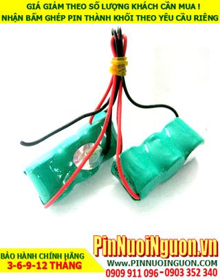 Pin nuôi nguồn NiMh-NiCd sạc 3.6V-1/3AA-300mAh chính hãng | Có sẳn hàng