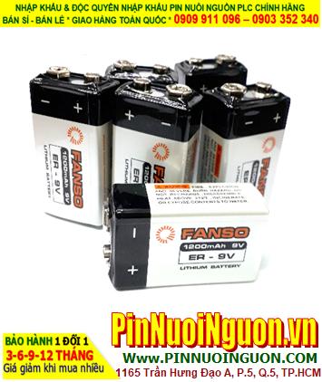 Pin ER-9V; Pin Fanso ER-9V; Pin nuôi nguồn Fanso ER-9V _Pin vuông 9v lithium |HẾT HÀNG