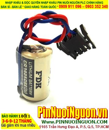 Pin FDK CR14250SE _Pin CR14250SE; Pin nuôi nguồn PLC FDK CR14250SE 1/2AA 900mAh Made in Japan