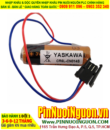 Pin Yaskawa CR6.L-CN14S; Pin CR6.L-CN14S; Pin nuôi nguồn PLC Yaskawa CR6L-CN14S lithium 3v AA2300mAh _Made in Japan