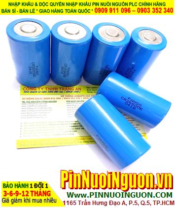 Pin CR26500E _Fanso CR26500E; Pin nuôi nguồn Fanso CR26500E lithium 3.0v 5000mAh chính hãng