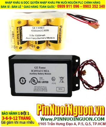 Pin IC693ACC302A; Pin nuôi nguồn FANUC IC693ACC302A lithium 3v chính hãng _Xuất xứ Nhật