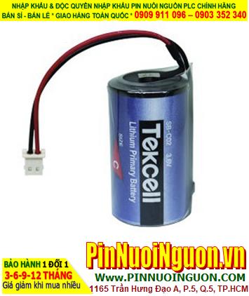 Pin SB-C02; Pin Tekcell SB-C02; Pin nuôi nguồn Tekcel SB-C02 lithium 3.6v 8500mAh _Xuất xứ Hàn Quốc