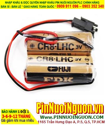 Pin Máy rửa Chén - Pin Vòi Hoa Sen - Pin Lavabo 3V Lithium 5200mAh FUJI 2CR8.LHC _Xuất xứ Nhật