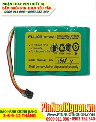 Pin Fluke BP120MH; Pin máy đo Fluke BP120MH 4.8v 3000mAh _Pin sạc 4.8v 3000mAh