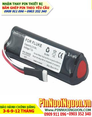 Pin FLUKE; Pin máy đo Fluke 7.2v 2300mAh _Pin sạc NiMh 7.2v 2300mAh
