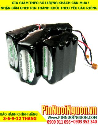 Pin sạc 9,6V-AA2000mAh NiMh-NiCd, Pin thiết bị Y Tế  9.6V AA2000mAh NiMh chính hãng | hàng có sẳn-Bảo hành 6 tháng