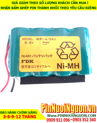 Pin sạc NiMh 8HR-4/5AU (9.6v2000mAh), Pin sạc thiết bị đo công nghiệp NiMh 8HR-4/5AU (9.6v2000mAh) | HÀNG CÓ SẲN