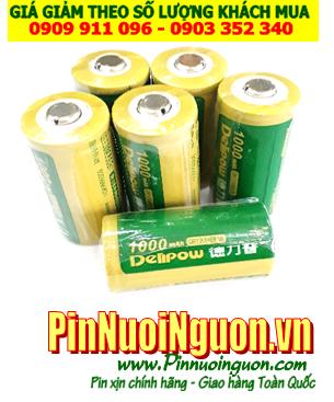 Pin ống nhòm chuyên dụng, Pin sạc LIthium Li-Ion CR123A, Pin sạc Delipow ICR123A Li-Ion 3,6V chính hãng | hàng có sẳn