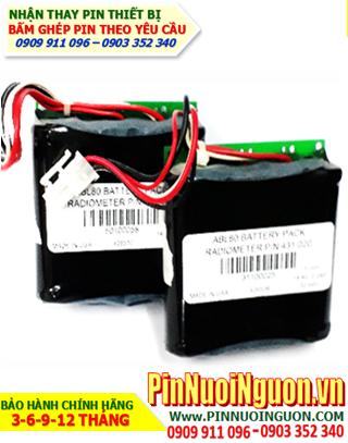 Pin PHÓNG XẠ KẾ Radiometer 14.4v Li-ion 2200mAh (ABL80 PN-431 020) | Hàng có sẳn