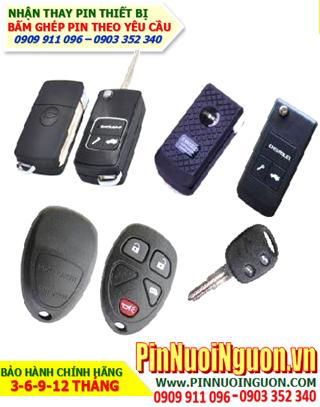 Pin Remote Chevrolet; Pin Remote xe hơi Chevrolet _thay pin điều khiển Ôtô Chevrolet