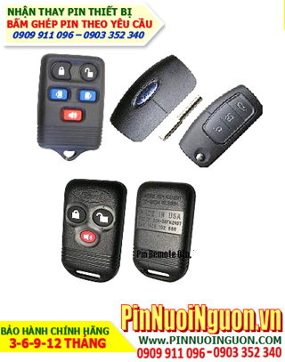 Pin Remote xe hơi Ford, thay pin Remote  Ôtô FORD Mondeo, Everest, Focus, Transit, Escape,v...