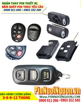 Pin Remote Toyota; Pin điều khiển Ôtô Toyota _thay pin điều khiển Ôtô Toyota