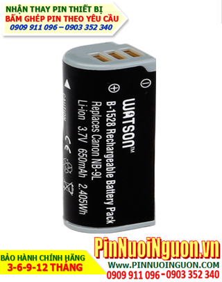 Pin sạc máy ảnh CANON NB-9L 3,7v 650mAh Li-Ion, Thay cell pin máy ảnh CANON NB-9L 3,7v 650mAh sạc Li-Ion