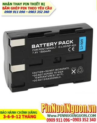 Pin sạc máy ảnh PENTAX D-Li90 7,4v 1800mAh Li-Ion, Thay cell pin máy ảnh PENTAX D-Li90 7,4v 1800mAh sạc Li-Ion