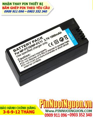 Pin sạc máy ảnh Sony NP-FC10, NP-FC11 Li-Ion 3,7V 950mAh, Thay cell pin máy ảnh Sony NP-FC10, NP-FC11 | Bảo hành 3 tháng