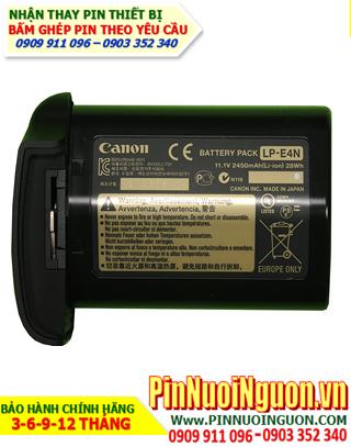 Pin máy ảnh Canon LP-E4 11,1V - 2600mAh, thay cells pin/ hàng có sẳn - bảo hành 06 tháng
