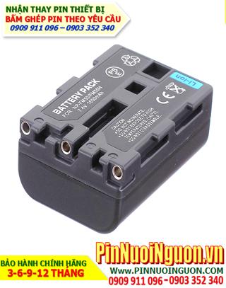 Pin máy ảnh Sony NP-FM55H-7.4V-1500mAh, thay cells pin/ hàng có sẳn - bảo hành 06 tháng
