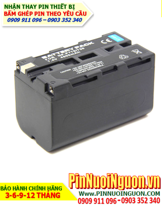 Pin máy ảnh Sony E72675, NPF330, NP530, NP500, GMB001, Thay cells pin/ hàng có sẳn - bảo hành 06 tháng
