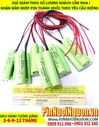 Pin sạc 3.6v AAA800mAh; Pin đèn Exit thoát hiểm 3.6v AAA800mAh; Pin đèn sự cố khẩn cấp 3.6v AAA800mAh; Pin sạc NiMh NiCd 3.6v AAA800mAh