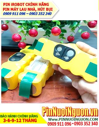 Pin iRobotRoomba 14.4v-3.0AH (3000mAh); Pin sạc iRobotRoomba 14.4v-3.0AH (3000mAh) chính hãng| Hàng có sẳn
