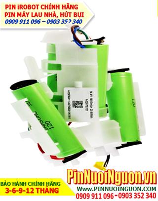 Pin iRobot 14.4v-2600mAh; Pin sạc Lithium Li-ion 14.4v-2600mAh _Thay pin iRobot máy hút bụi các hãng