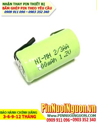 Pin máy cạo râu, Pin máy đánh răng NiMh-NiCd 400mAh 1,2V  chính hãng | bảo hành 6 tháng