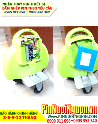 Pin xe điện cân bằng 67.2v -2200mAh, Pin xe điện tự giữ cân bằng 2 bánh 67.2v-2200mAH Li-Ion| ĐANG CÓ HÀNG
