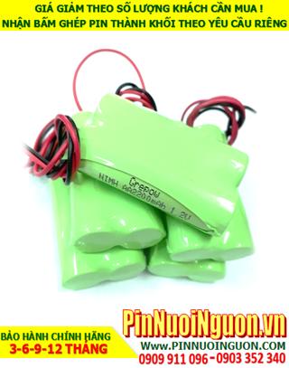 Pin sạc 2.4v AA2200mAh; Pin điện thoại bàn không dây Panasonic NiMh 2.4v AA2200mAh chính hãng