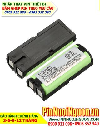 Pin điện thoại bàn không dây 2,4v Panasonic HHR-P105 - 830mAh chính hãng hàng có sẳn-Bảo hành 9 tháng