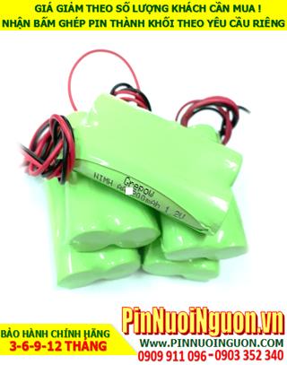 Pin sạc NiMh 2.4v AA700mAh; Pin điện thoại bàn không dây Cordlessphone NiMh 2.4v AA700mAh