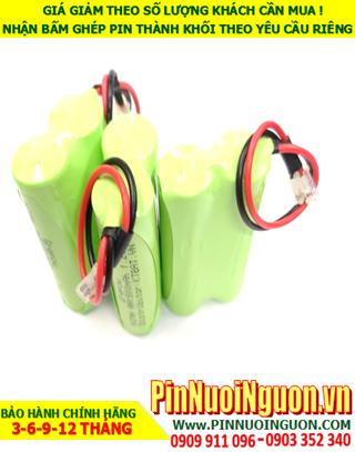Pin sạc NiMh 2.4v AA1500mAh; Pin điện thoại bàn không dây Cordlessphone NiMh 2.4v AA1500mAh