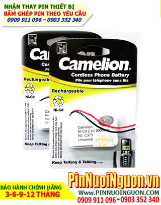 Camelion C373; Pin điện thoại bàn không dây Camelion C373 (Pin sạc NiMh 2.4v-AA600mAh)