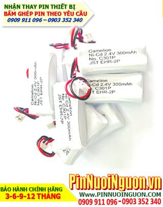 Camelion C301; Pin điện thoại bàn không dây Camelion C301 (Pin sạc NiMh 2.4v AAA300mAh)