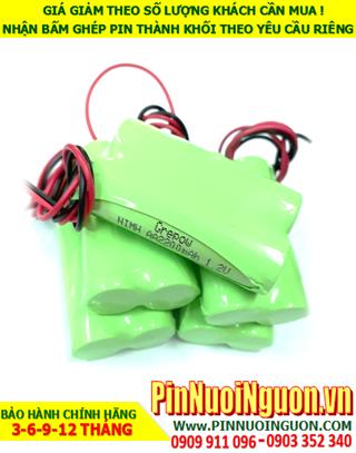 Pin sạc NiMh 2.4v AA2100mAh; Pin điện thoại bàn không dây Cordlessphone NiMh 2.4v AA2100mAh