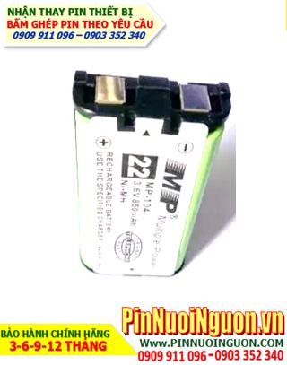 Pin điện thoại MP HHR-P104; Pin sạc NiMh HHR-P104; Pin điện thoại bàn Panasonic HHR-P104 | Bảo hành 6 tháng