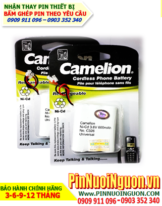 Pin điện thoại bàn Camelion C326-AA600mAh-3.6V chính hãng | hàng có sẳn