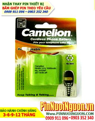 W004P-1000mAh-3.6V: Pin điện thoại bàn, Pin điện thoại Cordless Camelion W004P-1000mAh-3.6V