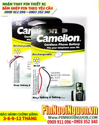Pin điện thoại bàn không dây 3,6v Camelion HHR-P301/C315-2/3AA320mAh chính hãng hàng có sẳn-Bảo hành 6 tháng