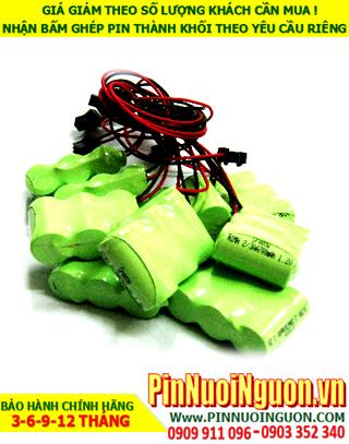 BPT-14: Pin điện thoại bàn, Pin điện thoại Cordless BPT-14/300mAh-2/3AA-3.6V/hàng có sẳn