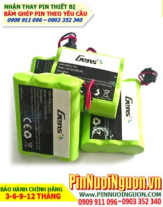 P-P543: Pin điện thoại bàn, Thay pin điện thoại Cordless P-P543/AA600mAh-3.6V/hàng có sẳn