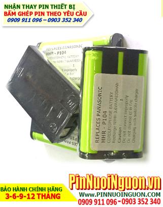 Pin điện thoại bàn Panasonic HHR-P104/AAA830mAh-3.6V/ hàng có sẳn - bảo hành 09 tháng