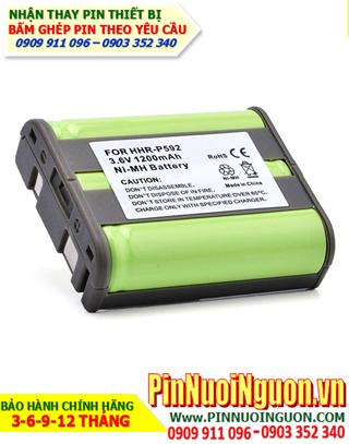 Pin điện thoại Cordless Panasonic P-P592/3.6V-600mAh, thay cells / hàng có sẳn - bảo hành 06 tháng