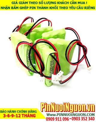 Pin điện thoại Cordless BT-150; Pin sạc NiMh 3.6v AAA800mAh |Bảo hành 6 tháng | hàng có sẳn