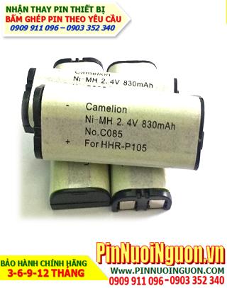Pin điện thoại bàn không dây HHR-P104 chính hãng 3,6V 830mAh | Bảo hành 6 tháng