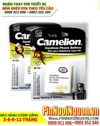 Pin điện thoại bàn 3,6V NiMh-NiCd C326-AA600mAh chính hãng Camelion Đức | hàng có sẳn