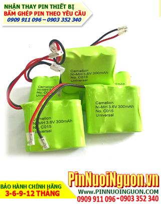 Pin điện thoại bàn không dây C015 size 2/3AAA 300mAh chính hãng Camelion Đức | bảo hành 6 tháng - Hàng có sẳn