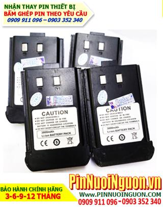 Pin sạc 3.7v 3800mAh; Pin Bộ đàm 3.7v 3800mAh; Pin sạc li-Polymer 3.7v 3800mAh _Thay pin bộ đàm các hãng